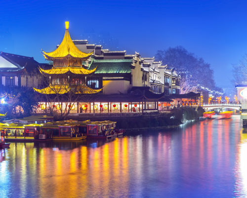 Nanjing, a city of great heritage and commercial importance on China's Eastern seaboard