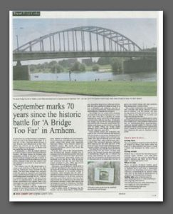 A Bridge Too Far article, West Country Life Magazine