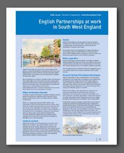 English Partnerships article, BURA magazine