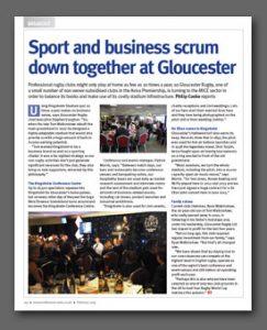 Kingsholm Conference Centre article, Conference News Magazine