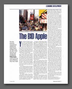 The BID Apple article, Regeneration and Renewal Magazine