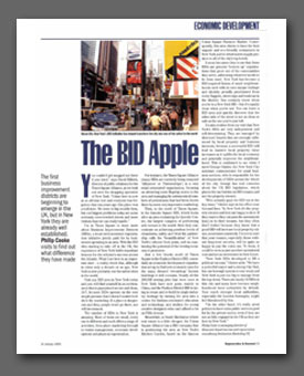 Article published in Regeneration and Renewal Magazine (PDF 900KB)