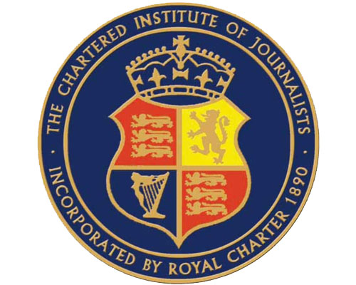 The Chartered Institute of Journalists Logo